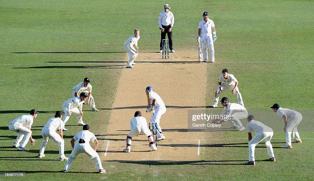 New Zealand v England - 3rd Test: Day 5 : News Photo