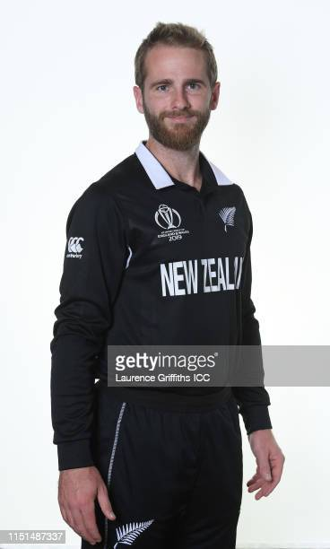 Kane Williamson of New Zealand poses for a portrait prior to the ICC Cricket World Cup 2019 at on May 24, 2019 in London, England.