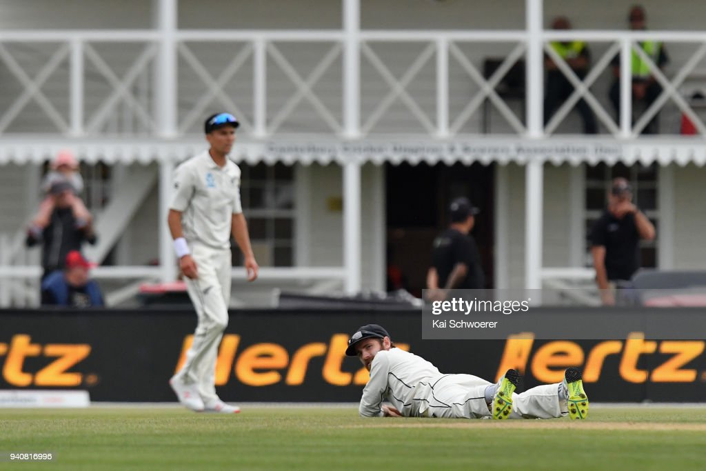 New Zealand v England - 2nd Test: Day 4