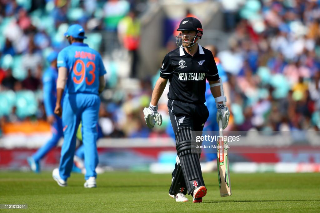 India v New Zealand – ICC Cricket World Cup 2019 Warm Up : News Photo