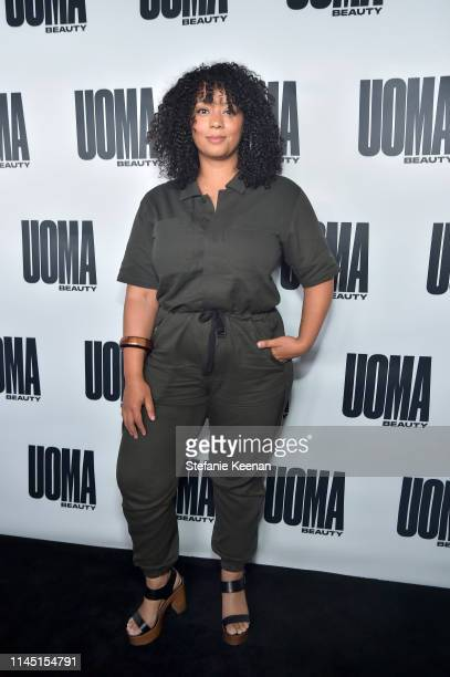 Kaneema Hill attends UOMA Beauty Launch Event at NeueHouse Hollywood on April 25 2019 in Los Angeles California