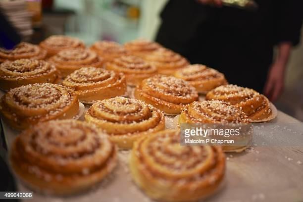 Kanelbullar - Swedish Cinnamon buns or rolls