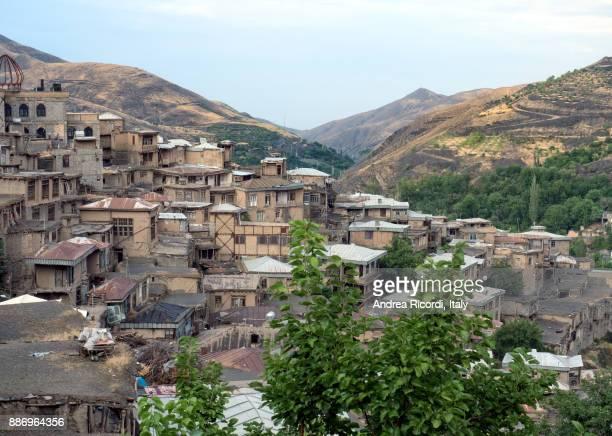 Kang old village in mountains near Mashhad, Iran