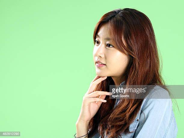 Kang SoRa poses for photographs on July 16 2014 in Seoul South Korea