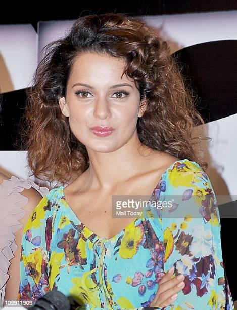 Kangana Ranaut at the music launch of movie 'Game' at Cinemax in Mumbai
