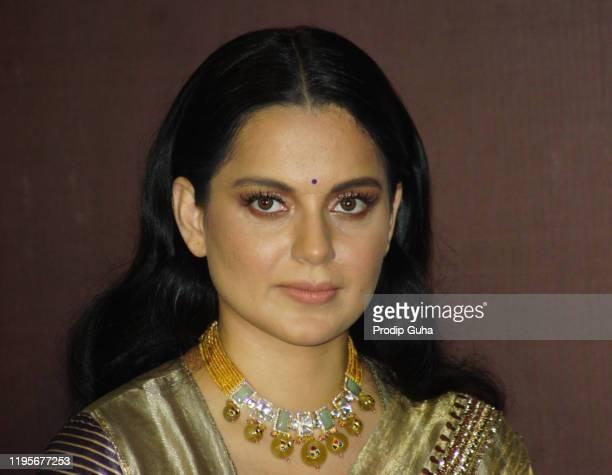 """Kangana Ranaut attends the """"Panga"""" film trailer launch on December 23, 2019 in Mumbai, India."""