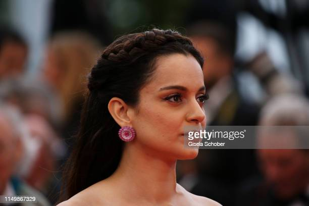 "Kangana Ranaut attends the screening of ""Pain And Glory "" during the 72nd annual Cannes Film Festival on May 17, 2019 in Cannes, France."