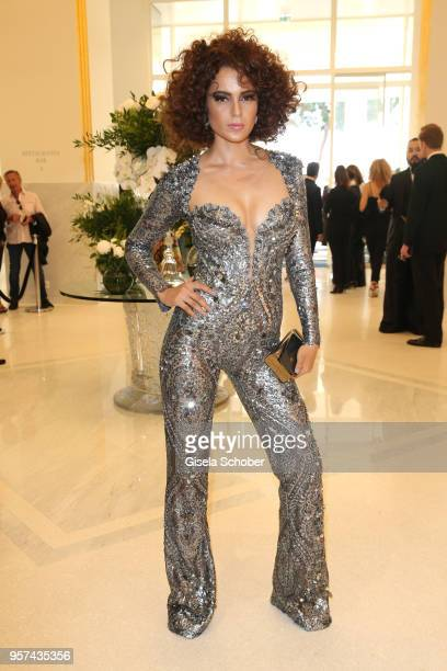 Kangana Ranaut poses in the Martinez during the 71st annual Cannes Film Festival at on May 11 2018 in Cannes France