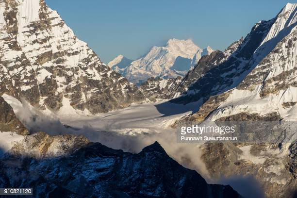 Kangchenjunga mountain peak, third highest mountain peak in the world, Mera peak, Nepal