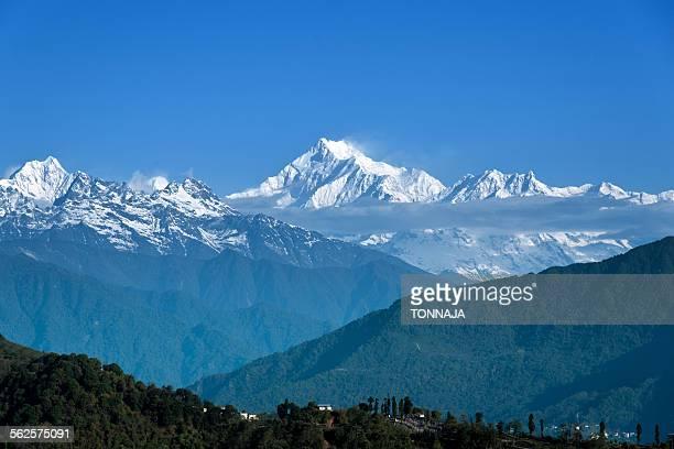 Kangchenjunga view from Darjeeling
