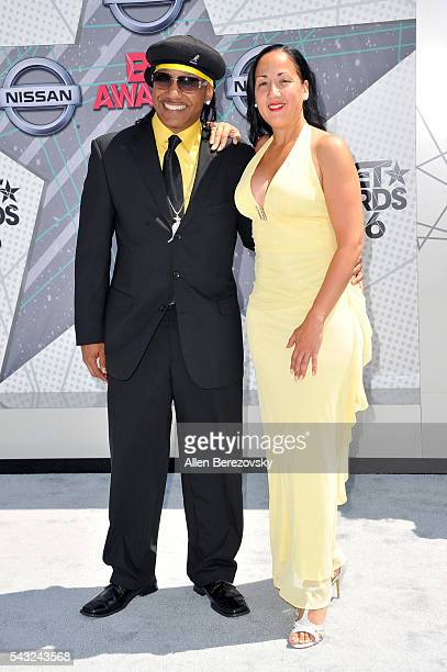 c3f85ab0 Kangol Kid and guest attend the 2016 BET Awards at Microsoft Theater on  June 26 2016