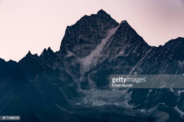 Kangtega mountain, Everest region, Nepal - April 29, 2016