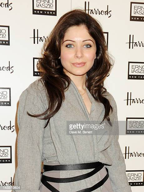 Kanika Chandok attends a private lunch to celebrate the Erno Laszlo Hollywood Collection hosted by Harrods Fashion and Beauty Director Marigay McKee...