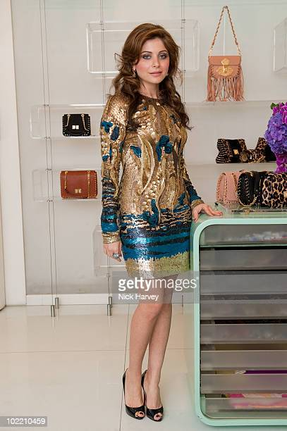 Kanika Chandok attends the Emilio Pucci cocktail party on June 18 2010 in London England