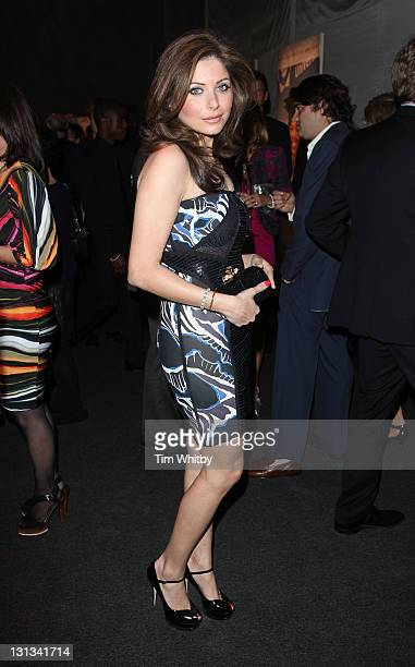 Kanika Chandok attends the gala dinner for Ubuntu Education Fund at Battersea Power station on May 4 2011 in London England
