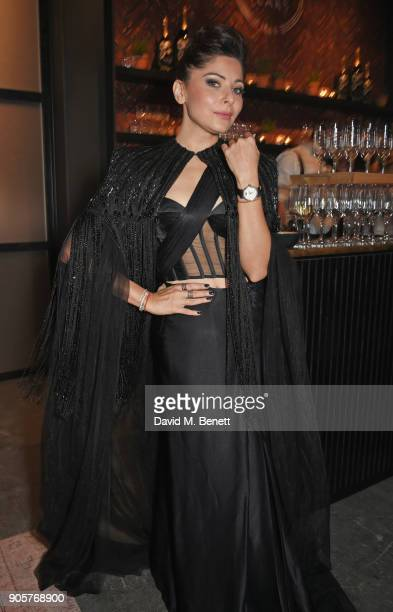 Kanika Kapoor attends the IWC Schaffhausen Gala celebrating the Maison's 150th anniversary and the launch of its Jubilee Collection at the Salon...