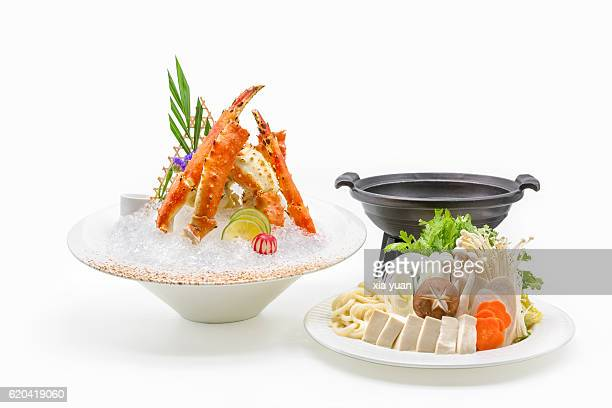 Kani-nabe (Kanisuki Nabe Or Crab hot pot)