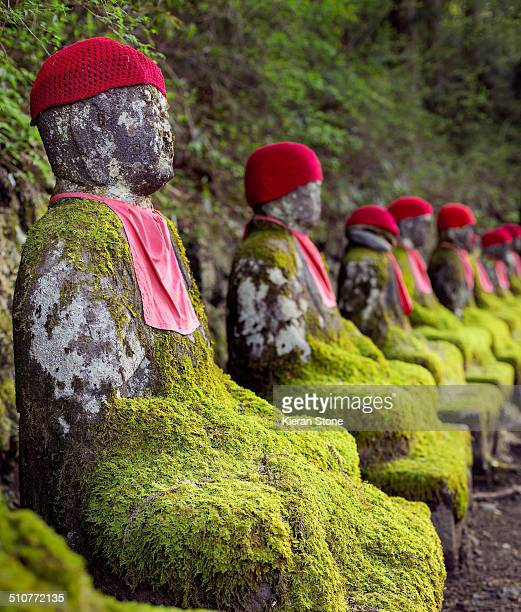 Kanmangafuchi's Stone Jizo statues.