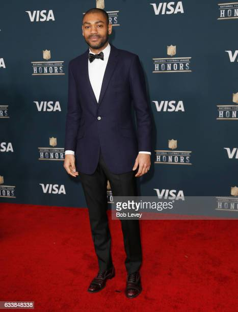 Kano attends 6th Annual NFL Honors at Wortham Theater Center on February 4 2017 in Houston Texas