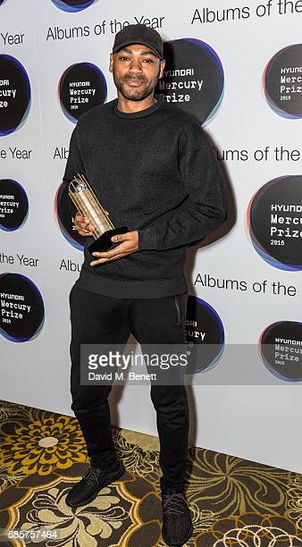 Kano attends the Hyundai Mercury Prize 2016 nominations announcement at The Langham Hotel on August 4 2016 in London England