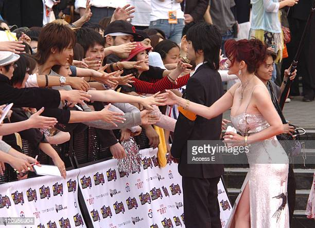 Kano Kyoko during MTV Video Music Awards Japan 2005 Outside Arrivals at Tokyo Bay NK Hall in Urayasu Japan