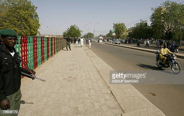 This picture taken 29 November 2006 at a street in Kano, northern Nigeria. The United States and European Union have called on Nigeria to curb...