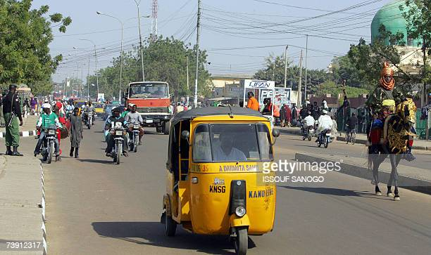 This picture taken 29 November 2006 shows a street in Kano, northern Nigeria. Nigerian soldiers 18 April 2007 clashed with members of an obscure...