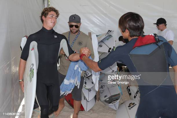 Kanoa Igarashi from Japan advanced to Round 4 after winning Heat 5 of Round 3 against his great friend Griffin Colapinto at the Oi Rio Pro in...