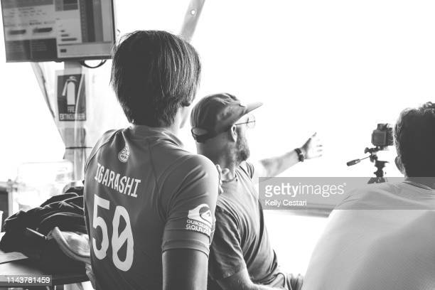 Kanoa Igarashi of the USA will be looking to restart his 2017 campaign with a win in Round Two with guidance from coach Jake Patterson after placing...