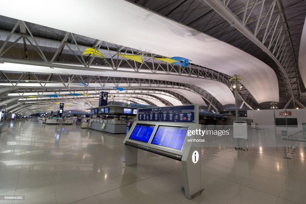 Kansai International Airport in Japan : Stock Photo