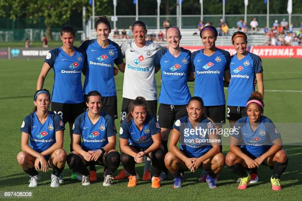 Kansas City before an NWSL match between the Seattle Reign FC and FC Kansas City on June 17 2017 at Children's Mercy Victory Field in Kansas City MO...