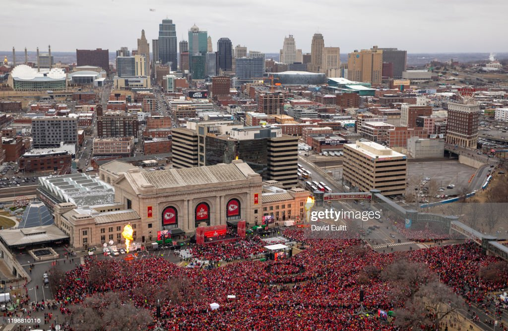 Kansas City Chiefs Victory Parade : News Photo