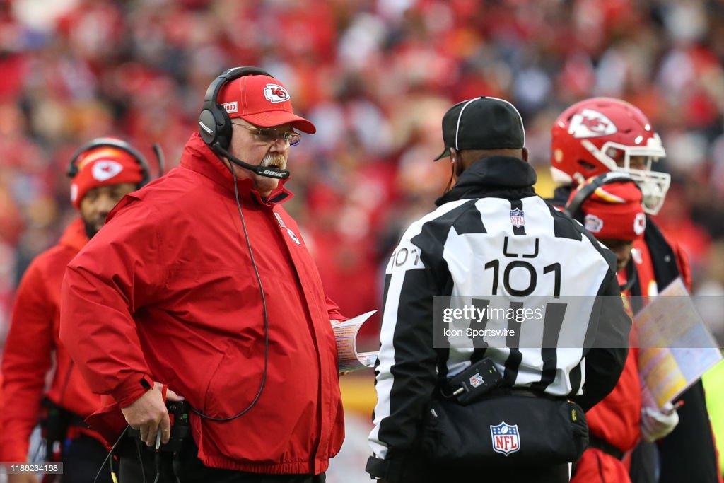 NFL: DEC 01 Raiders at Chiefs : News Photo