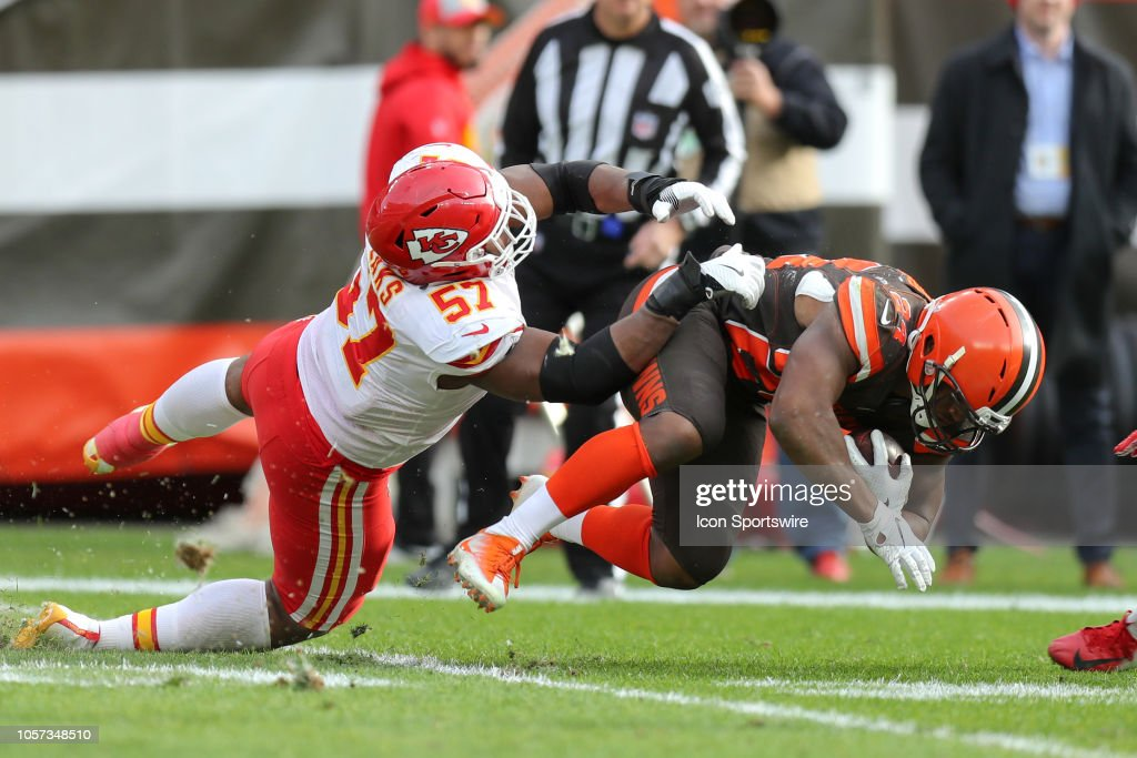 NFL: NOV 04 Chiefs at Browns : News Photo