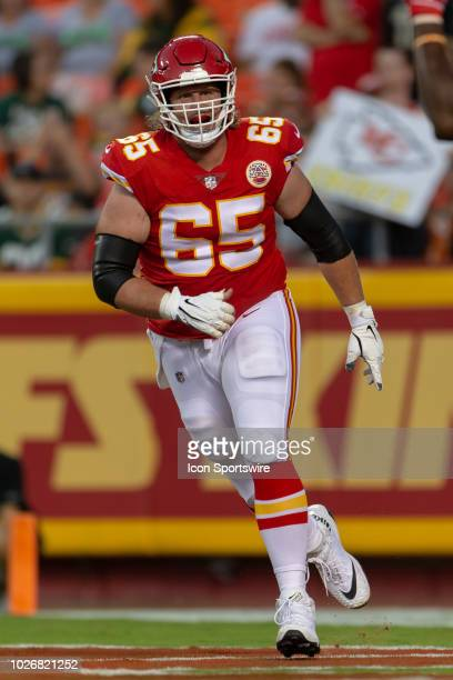 Kansas City Chiefs linebacker Robert McCray during the NFL Preseason game against the Green Bay Packers on August 30 2018 at Arrowhead Stadium in...