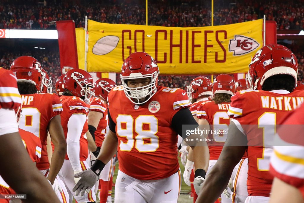 Kansas City Chiefs Nose Tackle Xavier Williams Runs Onto The Field News Photo Getty Images