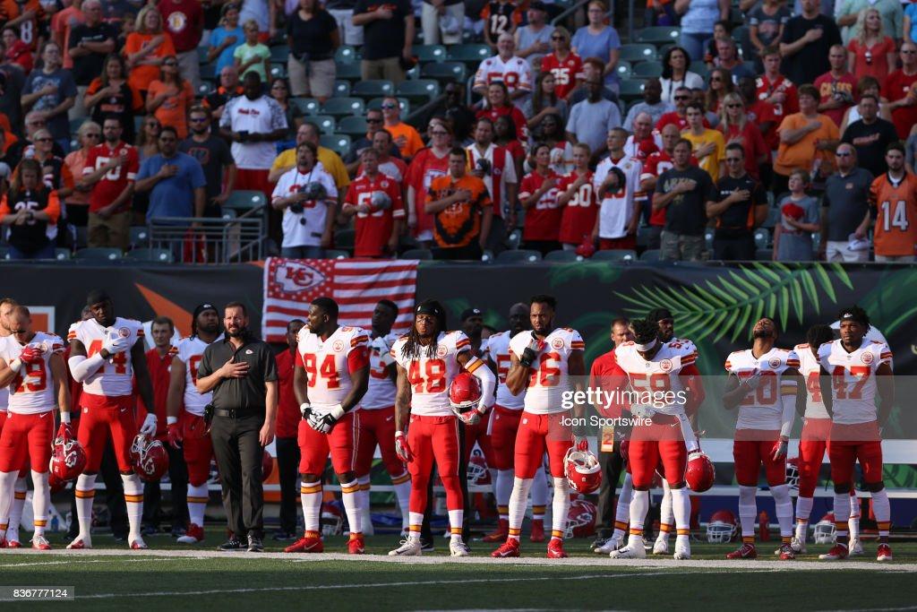 NFL: AUG 19 Preseason - Chiefs at Bengals : News Photo