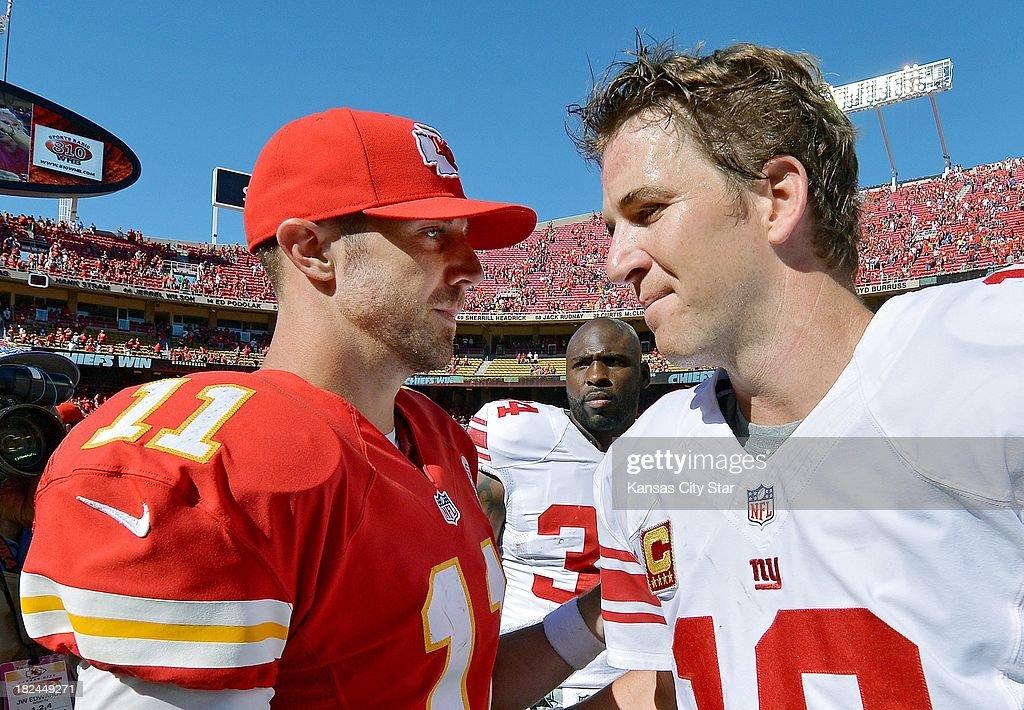 Chiefs vs. Giants : News Photo