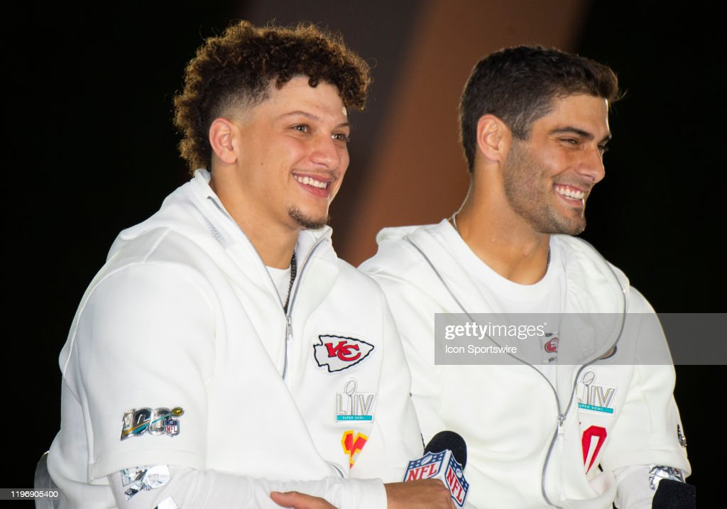 NFL: JAN 27 Super Bowl LIV - Chiefs Opening Night at Marlins Park : News Photo