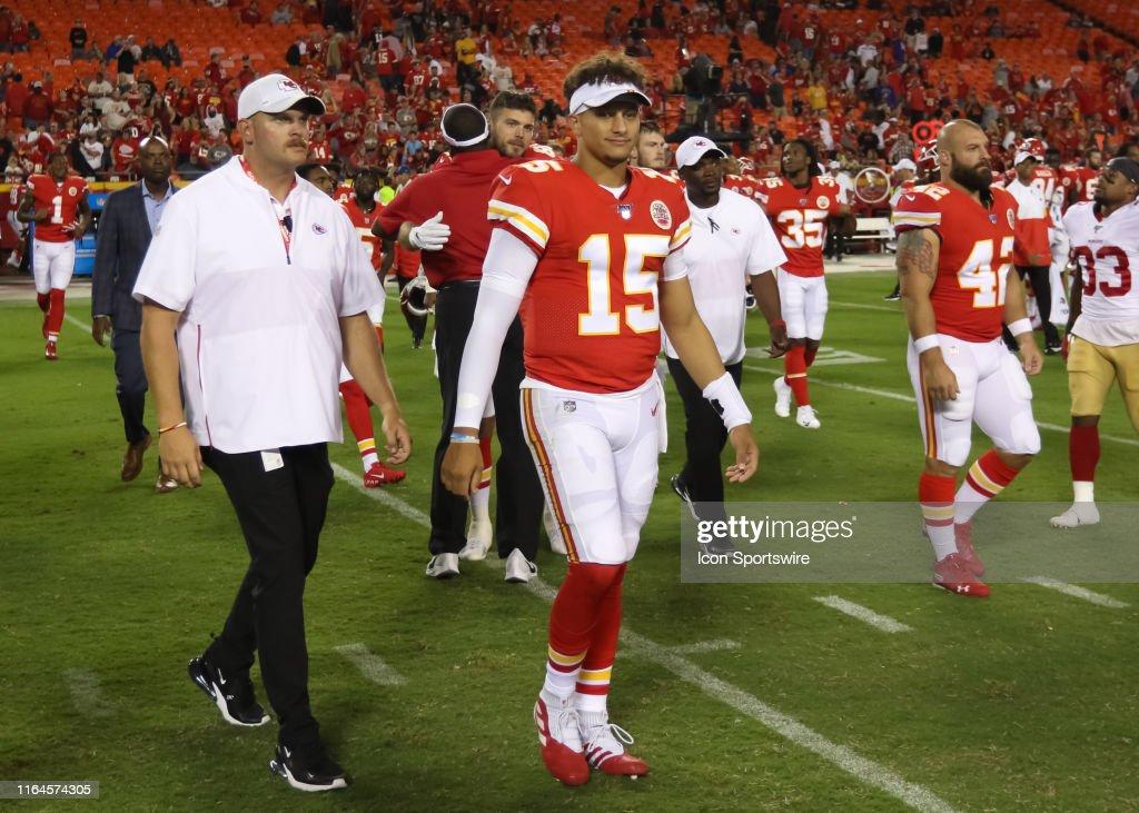 NFL: AUG 24 Preseason - 49ers at Chiefs : News Photo