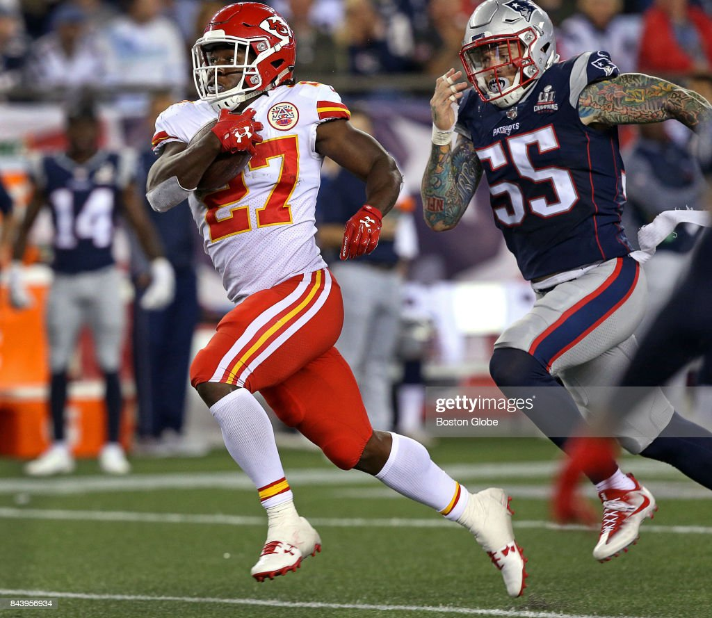 Kansas City Chiefs Vs. New England Patriots At Gillette Stadium