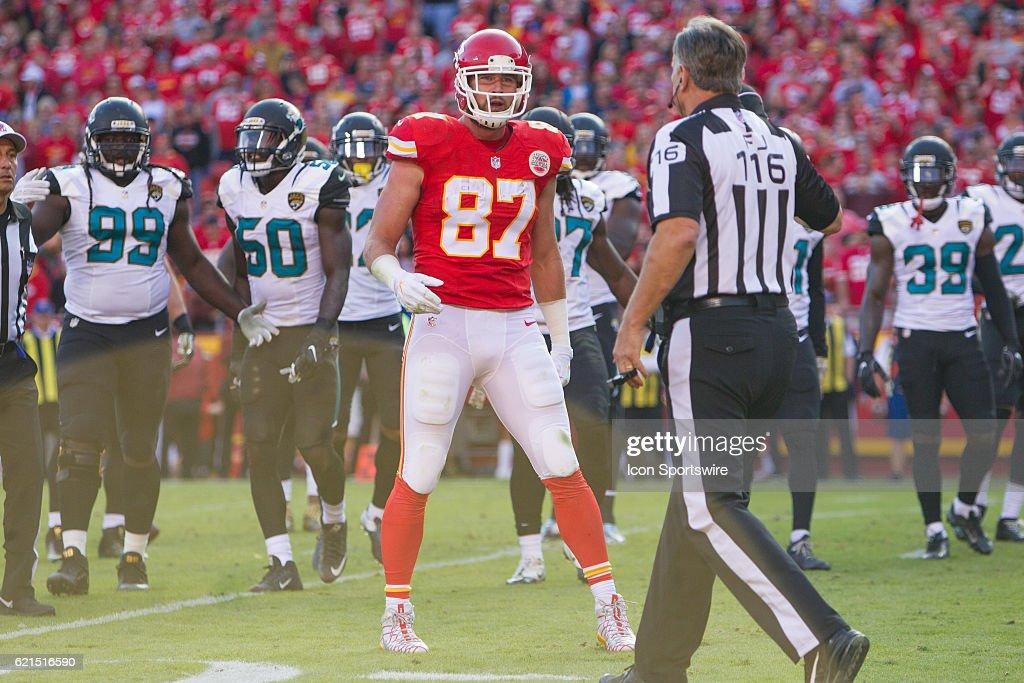 NFL: NOV 06 Jaguars at Chiefs : News Photo