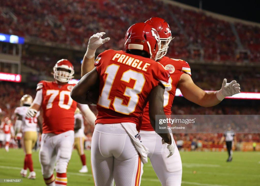 the best attitude 0fa01 e7da0 Kansas City Chiefs wide receiver Byron Pringle is ...