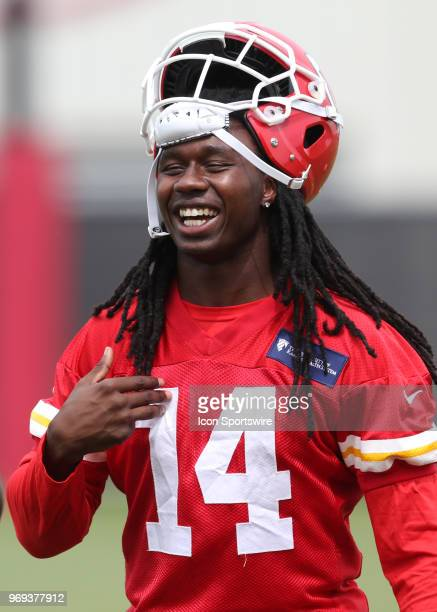 Kansas City Chiefs wide receiver Sammy Watkins during Organized Team Activities on June 7 2018 at the Kansas City Chiefs Training Facility in Kansas...