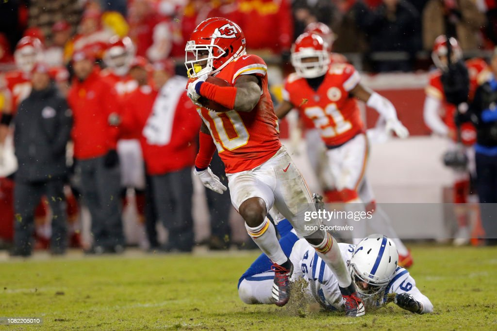 NFL: JAN 12 AFC Divisional Round - Colts at Chiefs : News Photo