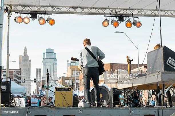Kansas City Missouri Band Plays Live Music Downtown USA