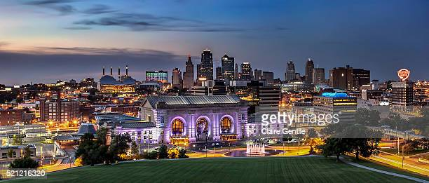 Kansas City Missouri Cityscape