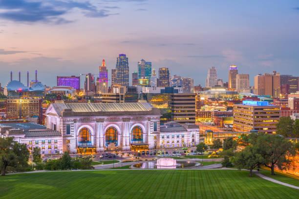 Kansas City Missouri Usa Skyline - Fine Art prints