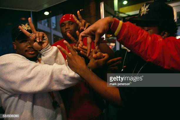 Vice Lords Crenshaw Mafia Bloods and other gangs as they attend the Urban Justice Summit