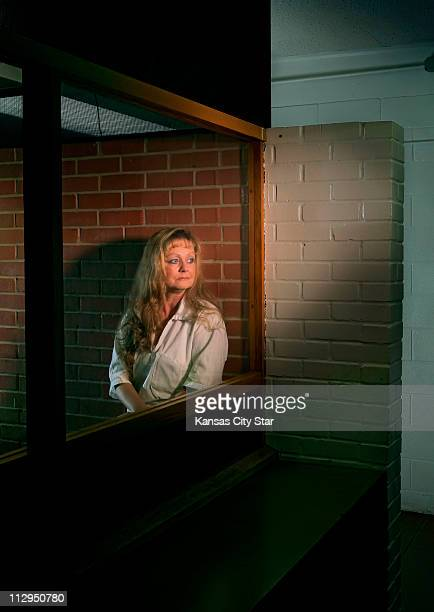 Kansas City native Cathy Henderson is photographed in the visitation room at Mountain View Unit in Gatesville Texas February 20 2007 Henderson has...
